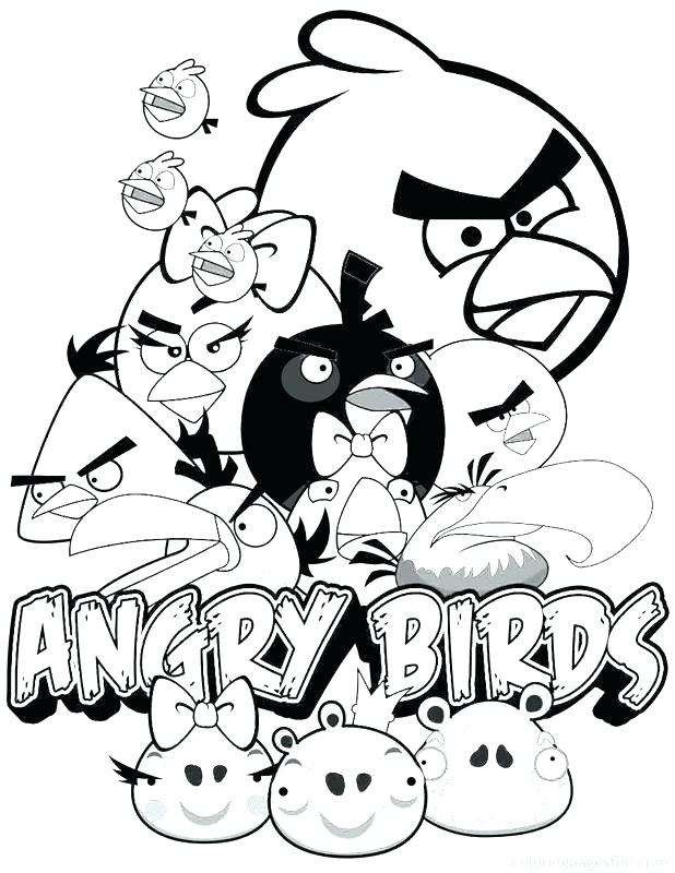 618x800 Angry Birds Go Coloring Angry Bird Go Coloring Pages Angry Birds