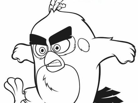 Angry Birds Movie Coloring Pages