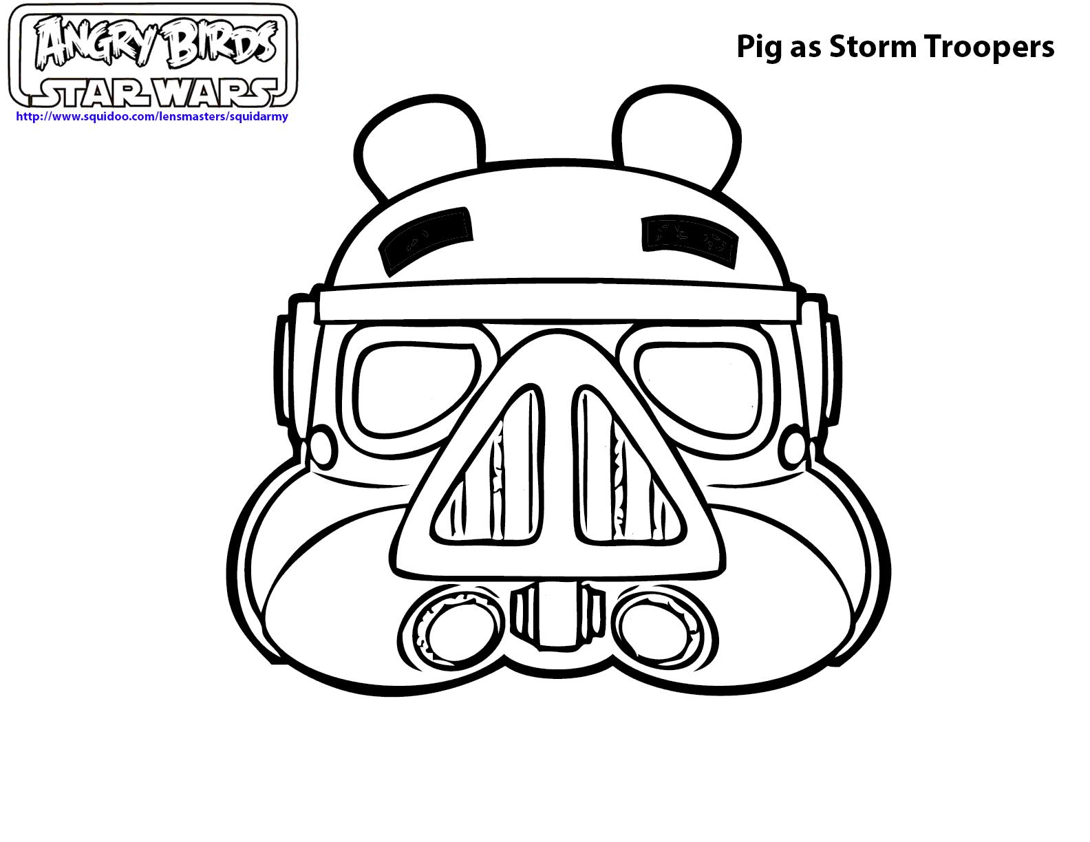 1584x1224 Angry Birds Star Wars Pigs Coloring Pages Coloring Pages
