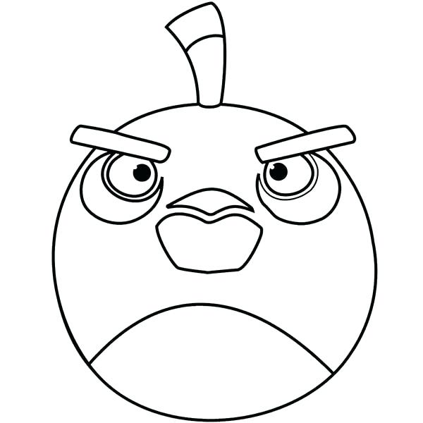 600x600 Angry Birds Coloring Pages As Well As Best Angry Bird Coloring