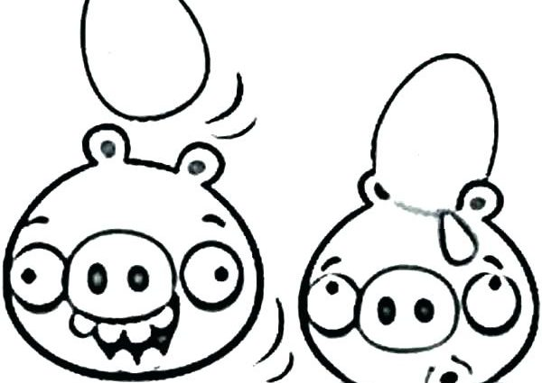 600x425 Coloring Pages Angry Birds Pigs Coloring Pages For Birds Coloring