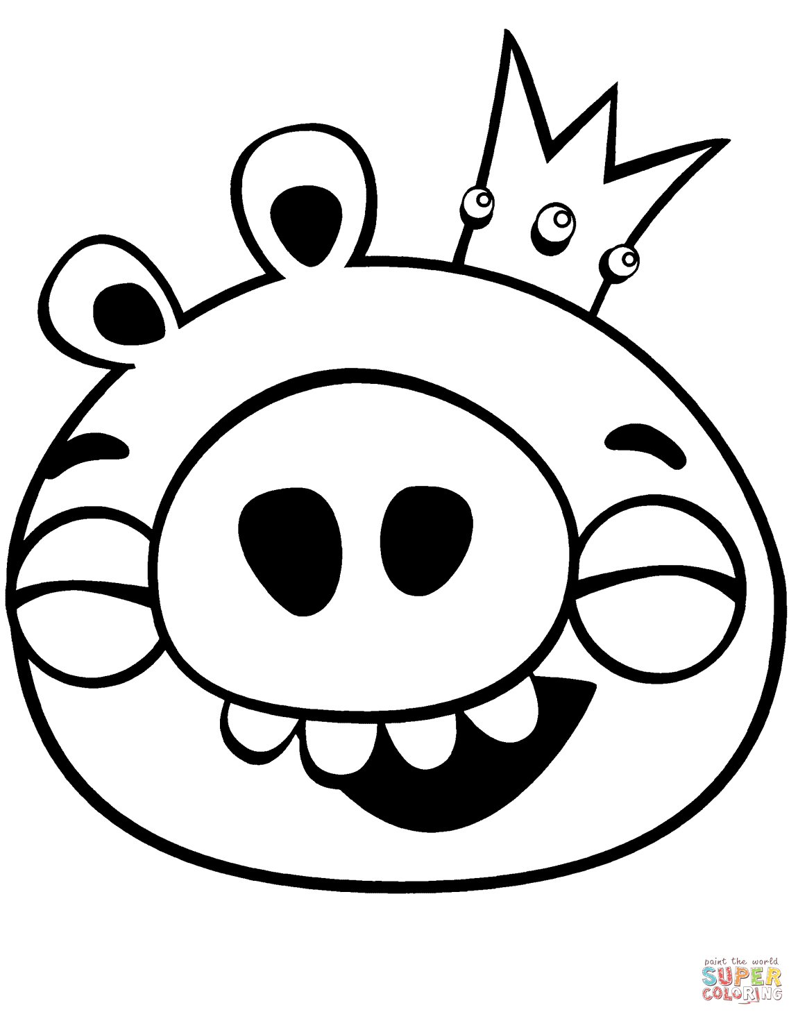 1150x1468 Image Result For Angry Birds Pigs Coloring Pages Carnival