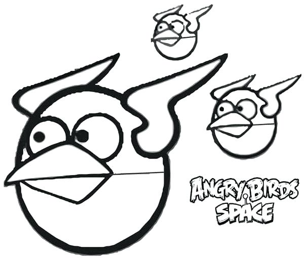 600x510 Angry Birds Space Coloring Pages