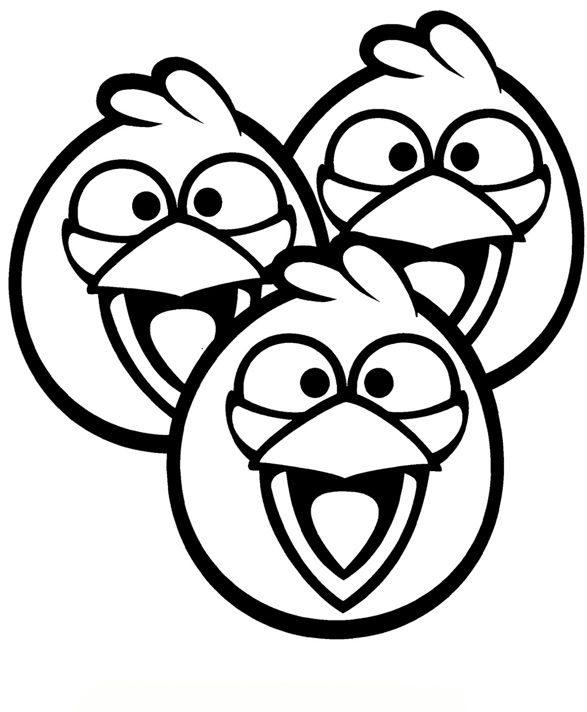 1150x1395 Angry Birds Printable Coloring Pages For Children