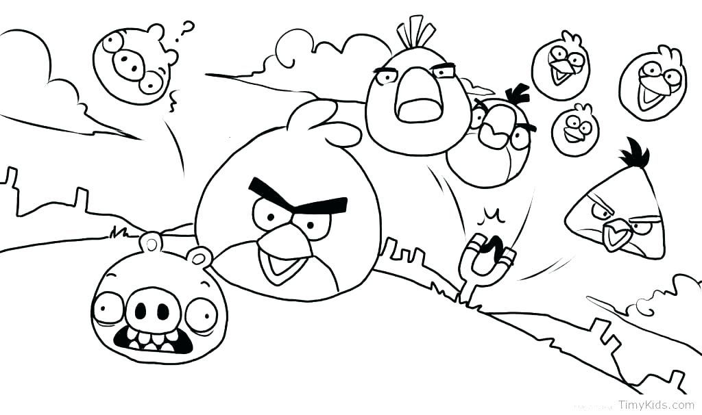 1024x606 Angry Birds Colouring Pages To Print