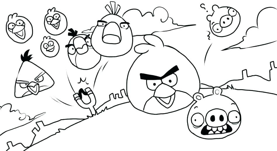 948x518 Coloring Pages Angry Birds Coloring Pages Angry Birds Baby Bird