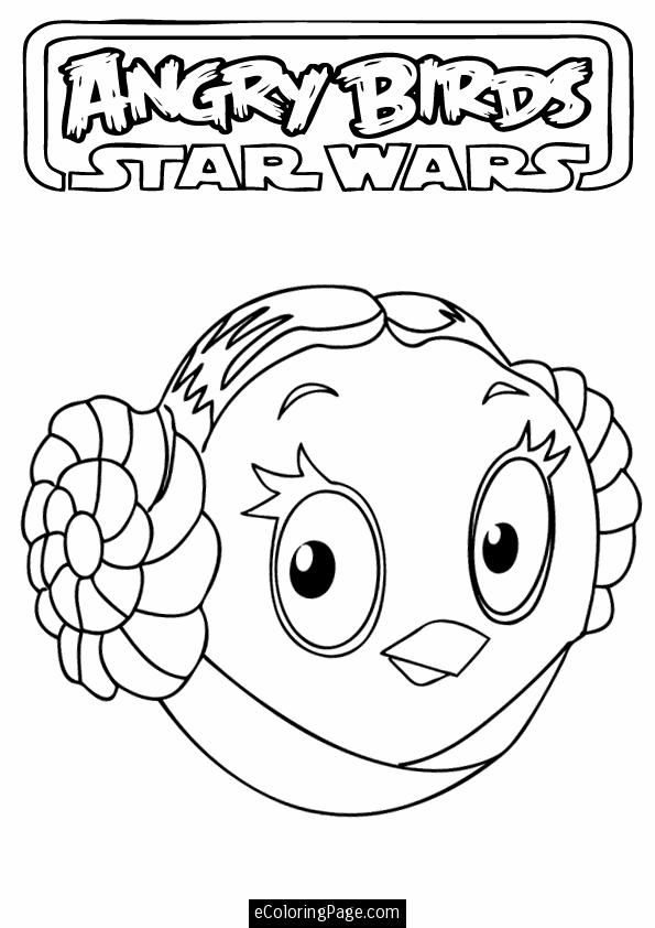 595x842 Angry Birds Printable Coloring Pages Angry Birds Star Wars