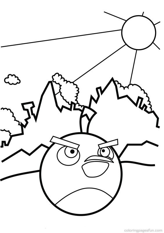 565x800 Angry Birds Coloring Pages