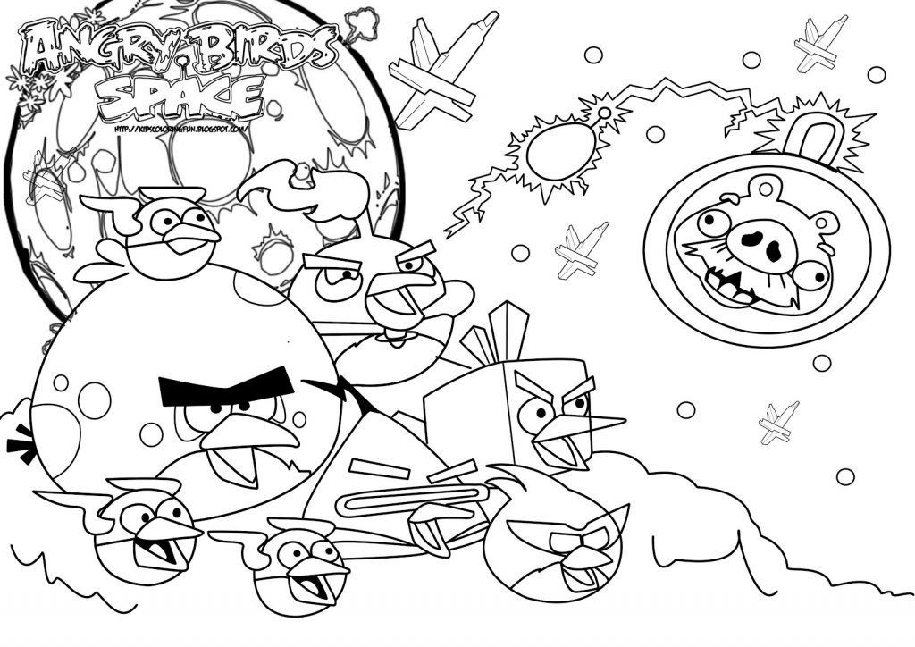 1024x724 Angry Birds Coloring Pages For Your Small Kids Free Printable
