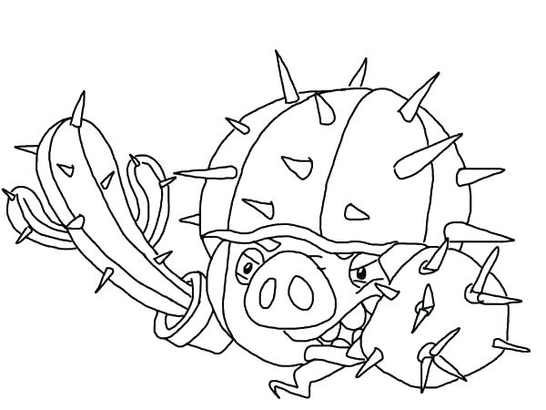 600x450 Coloring Pages Angry Birds Star Wars Original Coloring Page