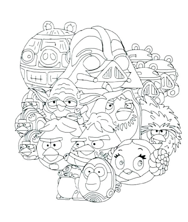 600x706 Star Wars Coloring Book Or Angry Birds Star Wars Coloring Pages