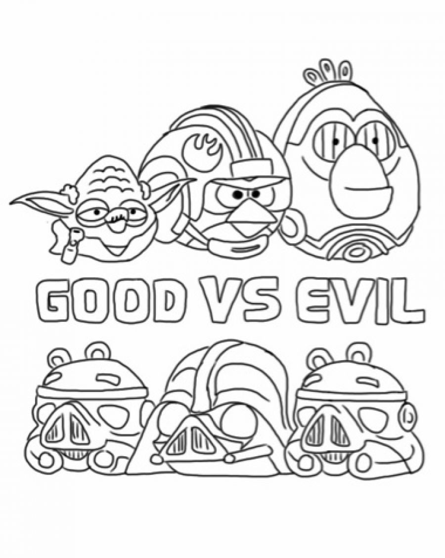 900x1129 Angry Birds Star Wars Coloring Pages