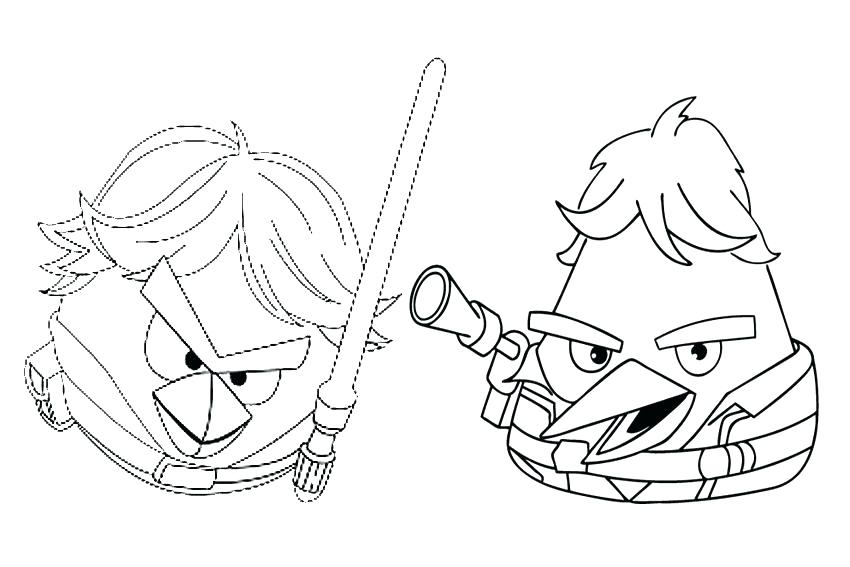 850x567 Coloring Pages Darth Vader Angry Bird Star Wars Coloring Pages