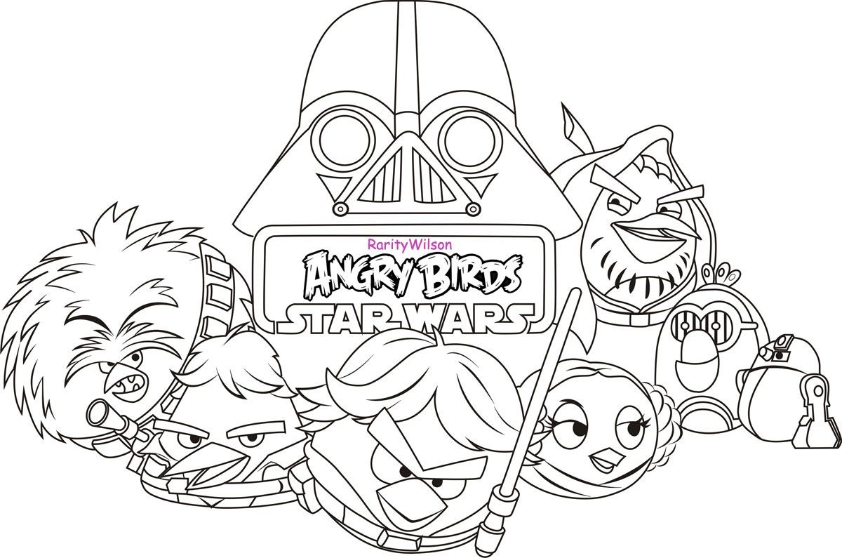 1200x795 Star Wars Coloring Pages