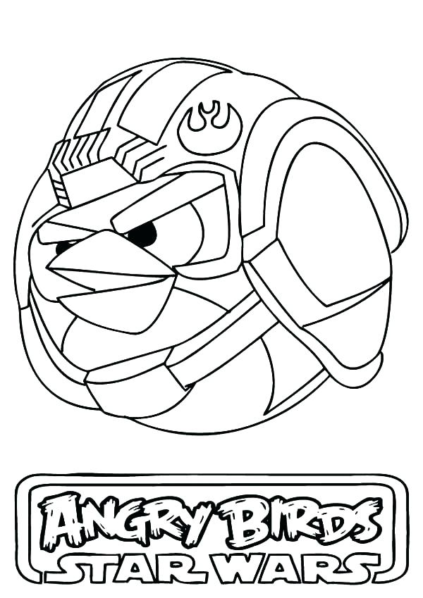 600x849 Star Wars Coloring Pages Coloring Pages Angry Bird Star Wars