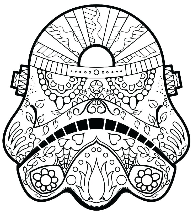736x816 Starwars Coloring Page