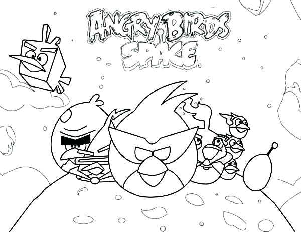 600x463 Angry Birds Star Wars Coloring Pages Angry Birds Star Wars Chasing