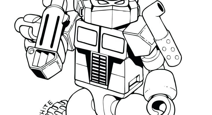735x400 Transformer Coloring Page Interesting Transformers Coloring Sheets