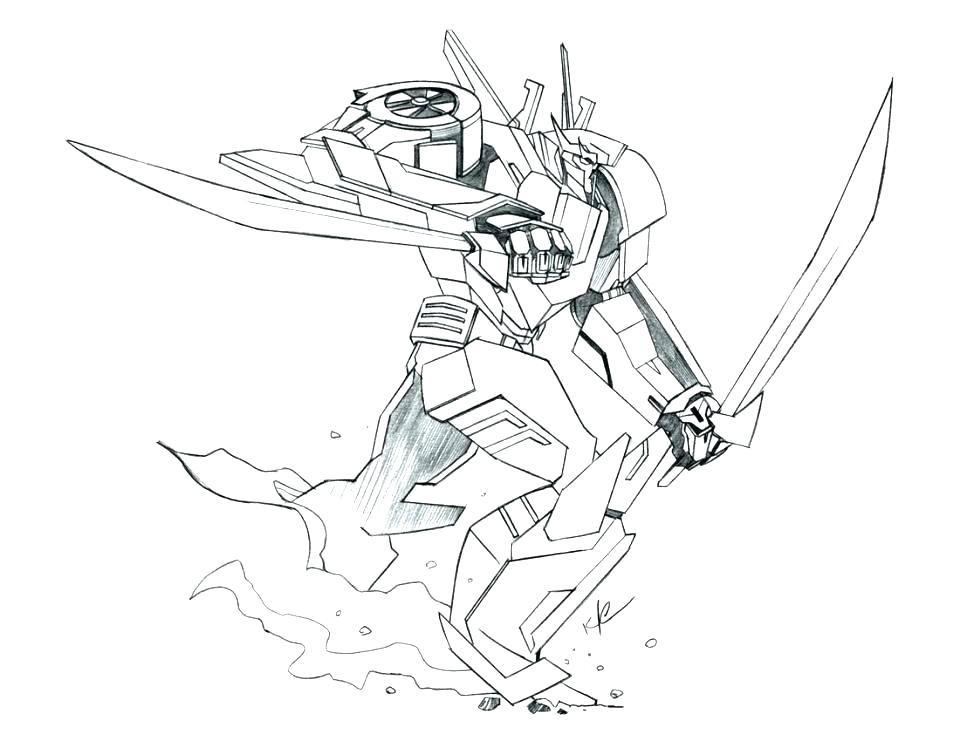 960x741 Transformer Coloring Pages For Bumblebee Transformer Coloring Page