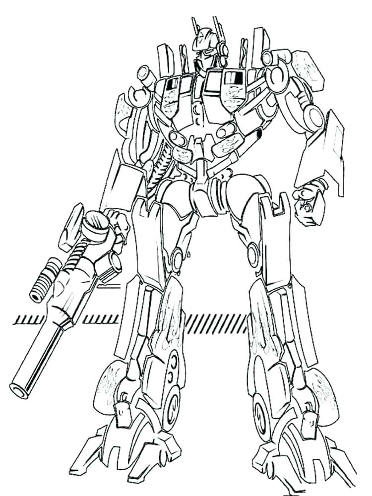 750x1000 Transformer Coloring Pages To Print Transformers Coloring Pages