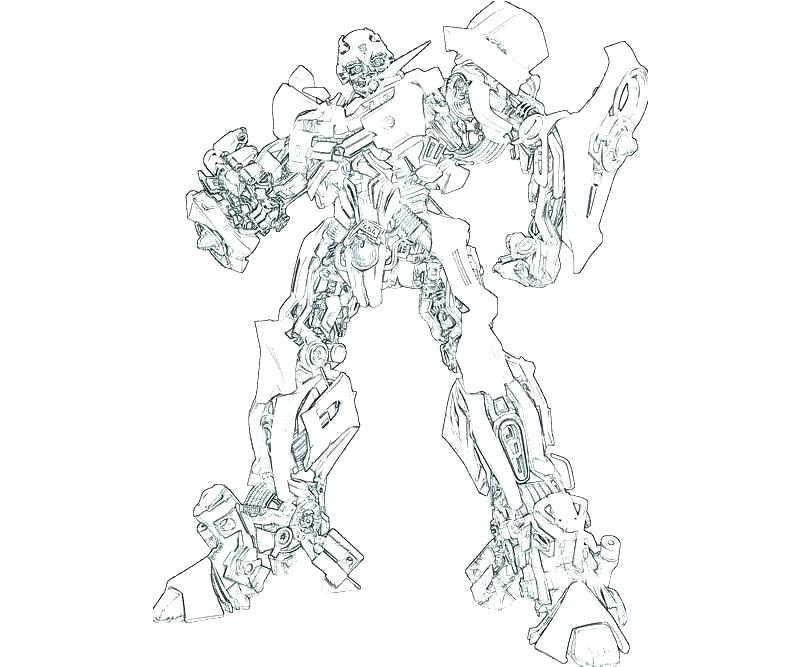 800x667 Transformer Coloring Transformers Bumblebee Transformer Coloring