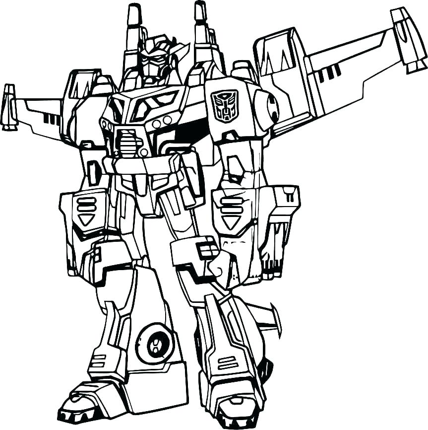863x866 Transformers Coloring Pages To Print Transformer Coloring Page
