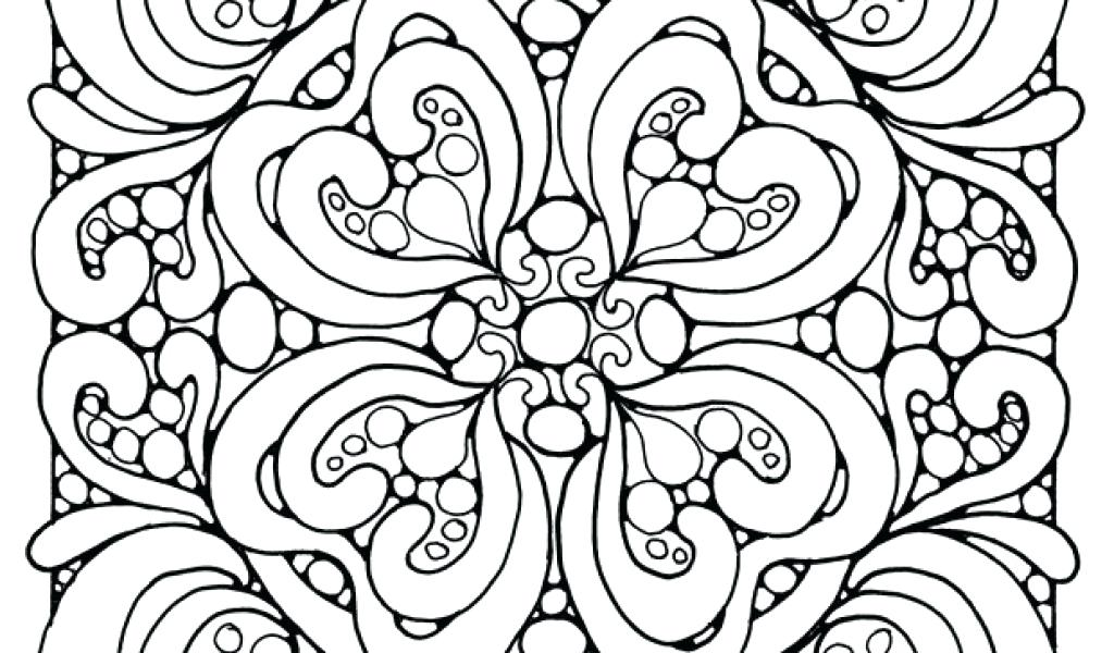 1024x600 Abstract Coloring Pages Printable Beautiful Abstract Coloring