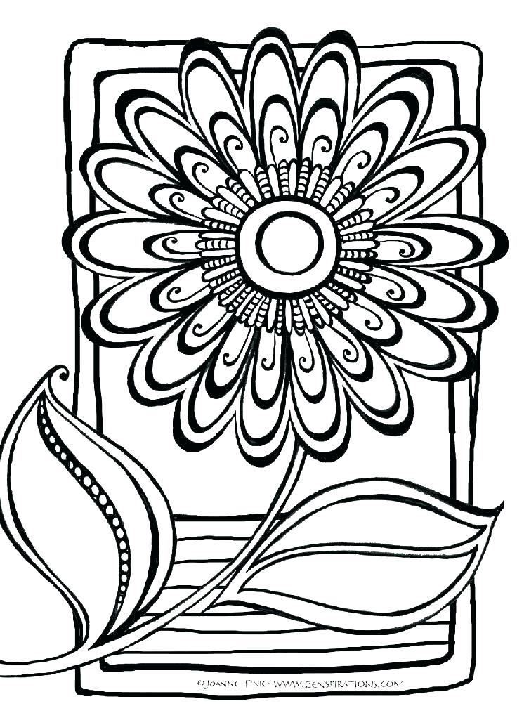 736x1005 Abstract Coloring Pages Printable Detailed Coloring Pages Free