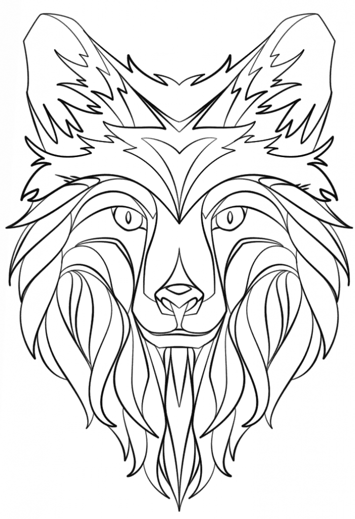 701x1024 Abstract Animal Coloring Pages