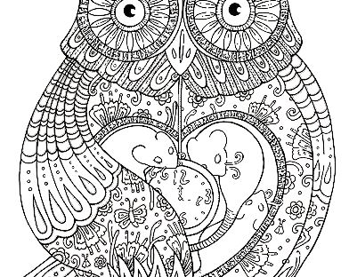 392x312 Abstract Coloring Pages For Adults And Artists Plush Design