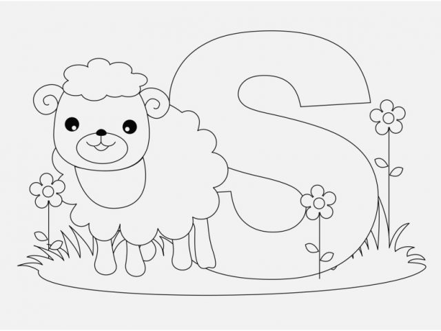 640x480 Animal Alphabet Coloring Pages Graphic Animal Alphabet Coloring