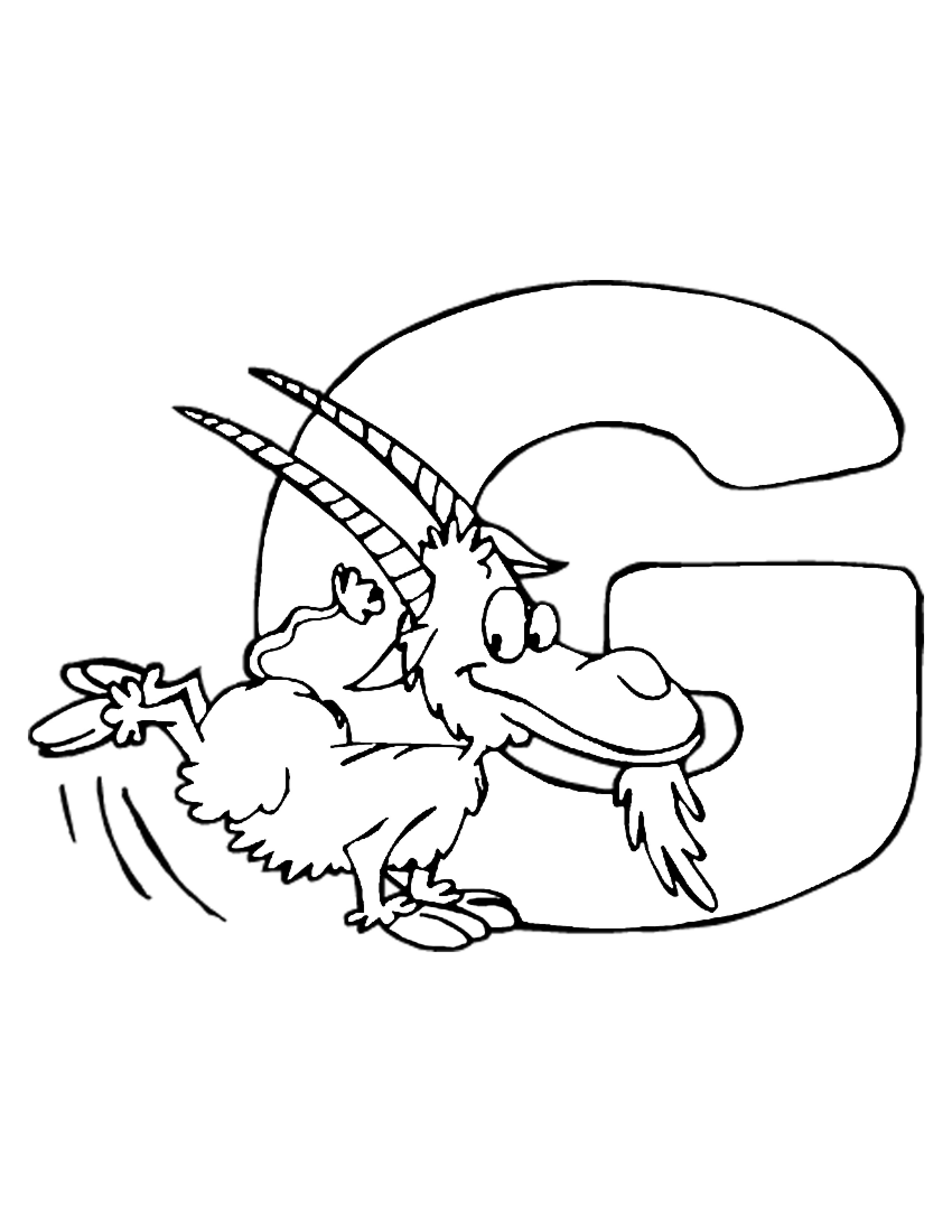 2550x3300 Animal Alphabets Coloring Pages Coloring Pages For Kids