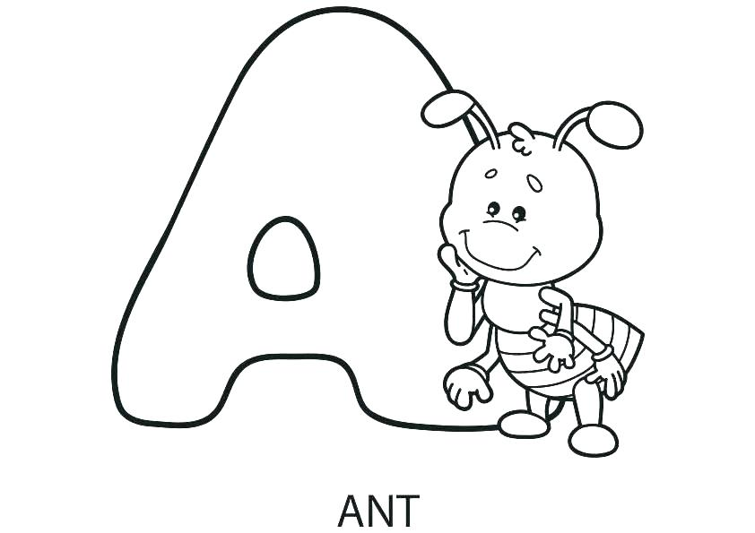 842x595 Coloring Pages Alphabet Animals Printable Coloring Pages Coloring