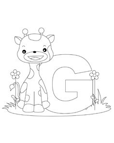 236x295 Free Color The Animal Alphabet Coloring Pages Animal Alphabet
