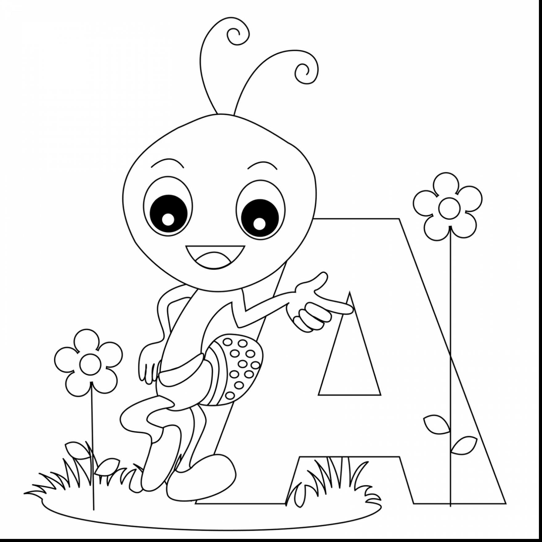 1760x1760 Alphabet Coloring Pages Letter S Too Cute
