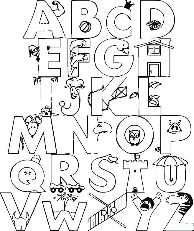 658x780 Alphabet Letters Coloring Pages Letter Coloring Pages T Alphabet