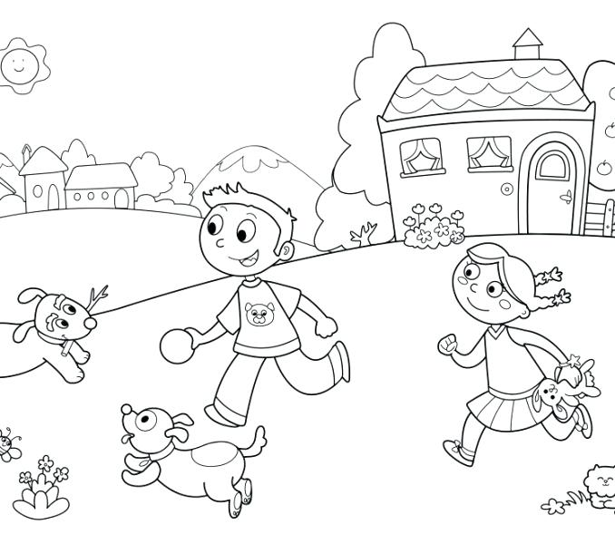 678x600 Collage Coloring Pages Animal Collage Coloring Pages
