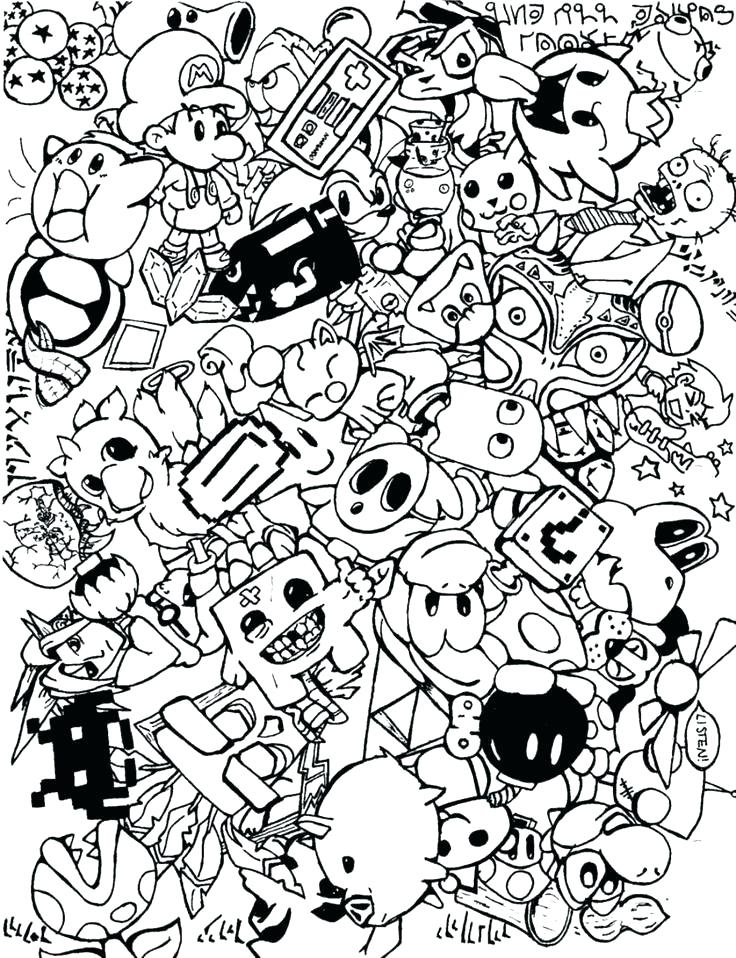 736x958 Collage Coloring Pages Collage Coloring Pages Downloads Online