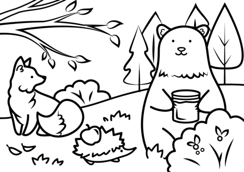 480x339 Coloring Pages Animals Animal Free Zvershtina Info For Page