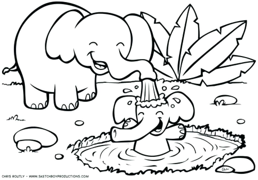 1024x716 Jungle Coloring Page Jungle Coloring Pages Good Jungle Animals