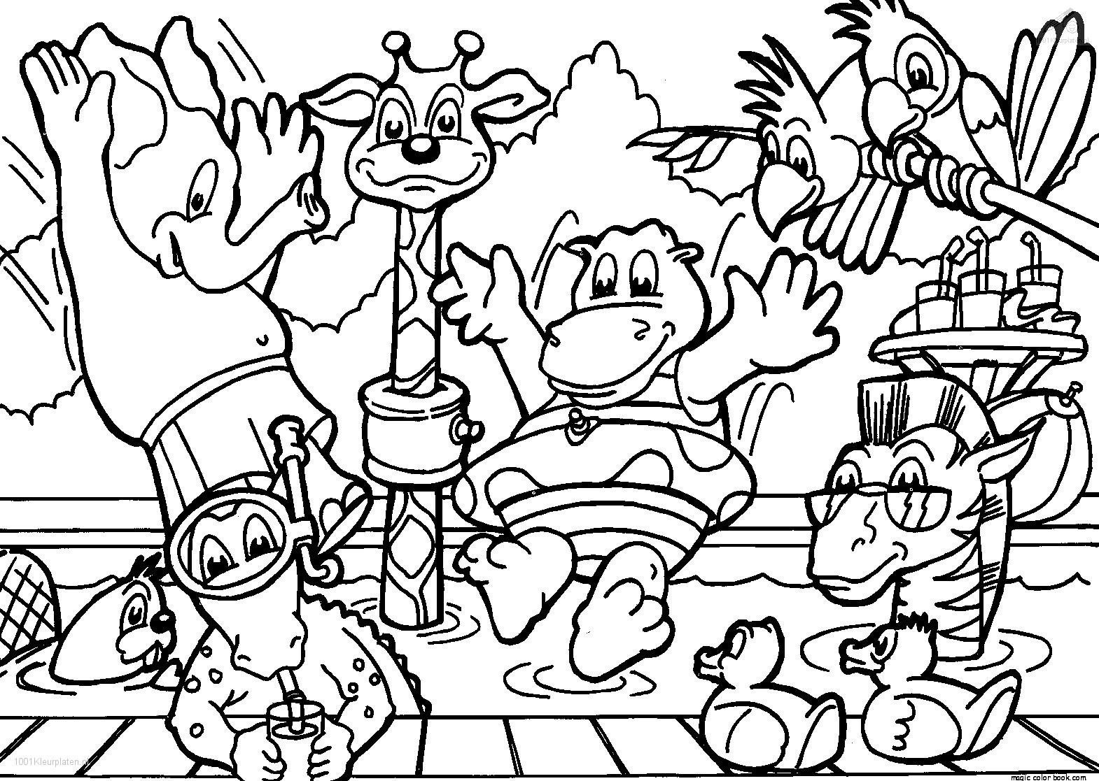 1570x1117 Zoo Animal Coloring Pages Amazing Sheets Ideas For You Animal