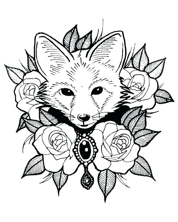 Animal Coloring Pages At Getdrawings Com Free For Personal Use