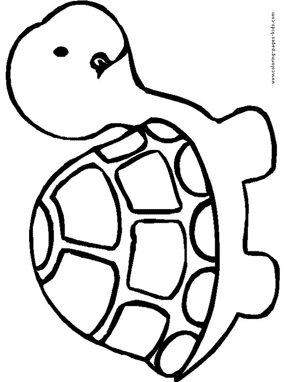 Animal Coloring Pages Easy