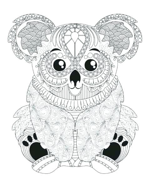 483x593 Amazing Animal Coloring Pages For Adults For Coloring Pages