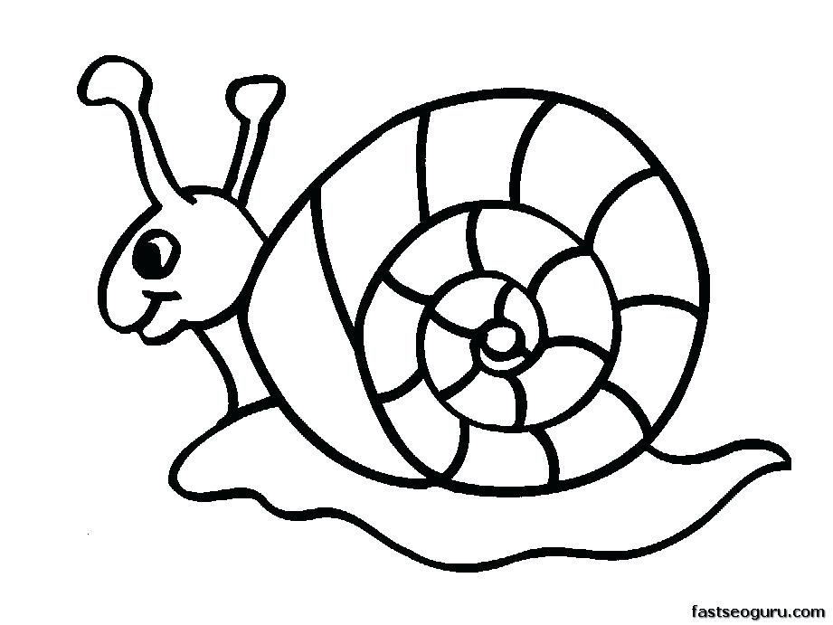 921x691 Coloring Pages Of Animals Snail Coloring Page Download Snail