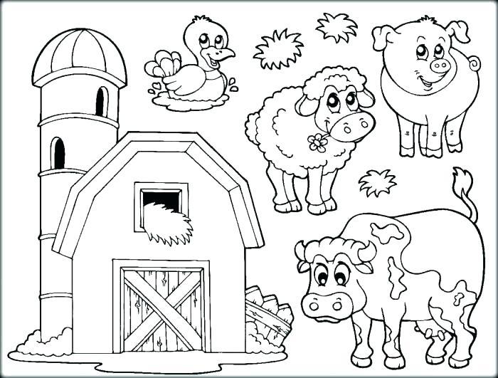 700x531 Farm Coloring Page Printable Farm Coloring Pages Farm Animals