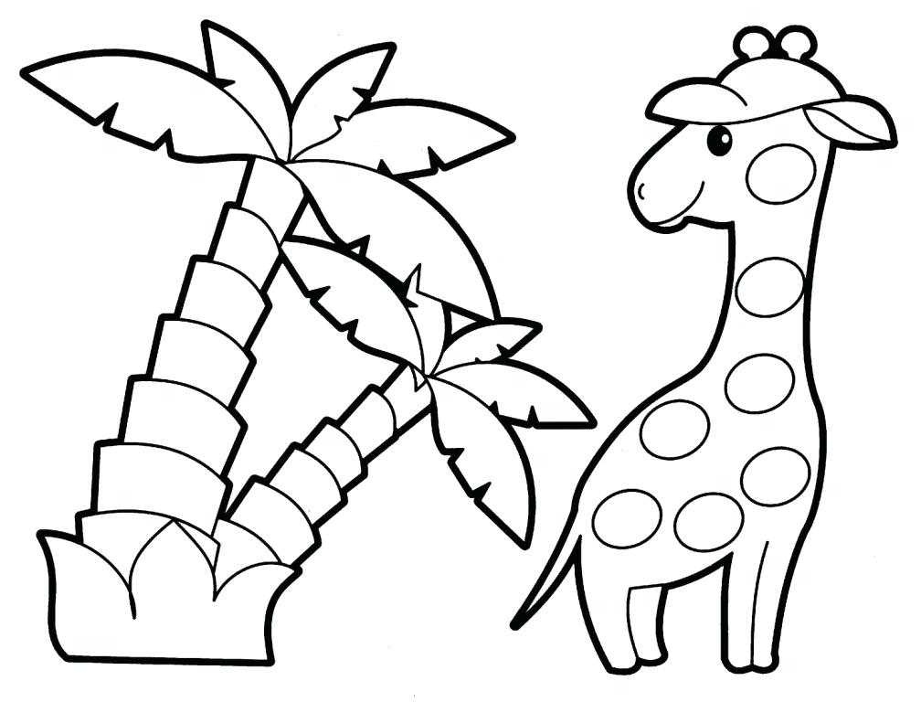 1008x768 Printable Animals Coloring Pages Zoo Animal Color Pages Many