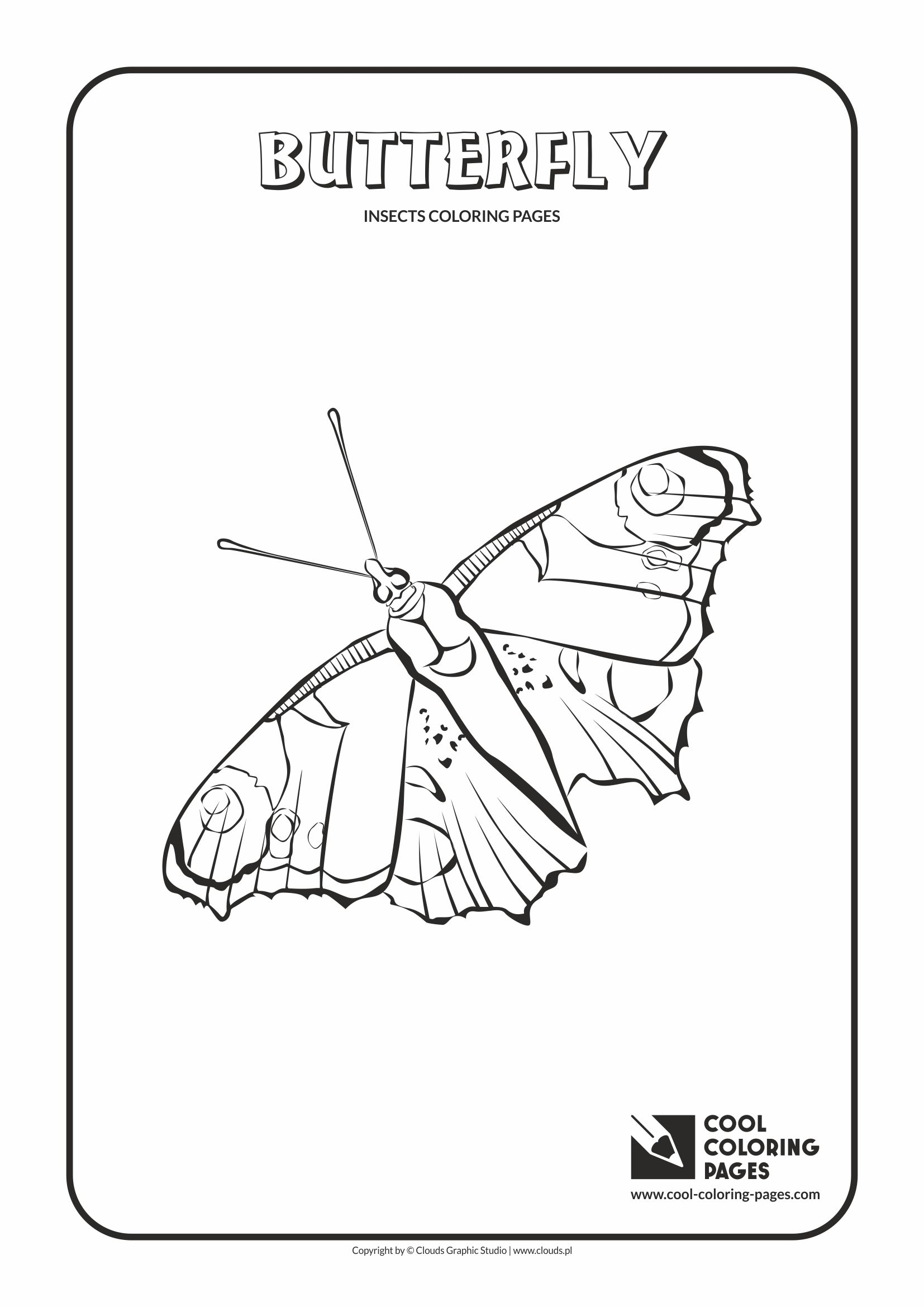 1654x2339 Cool Coloring Pages Insects Coloring Pages