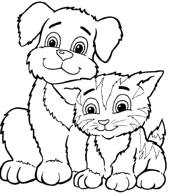 564x649 Cartoon Animal Coloring Pages Cartoon Animal Coloring Pages Fun