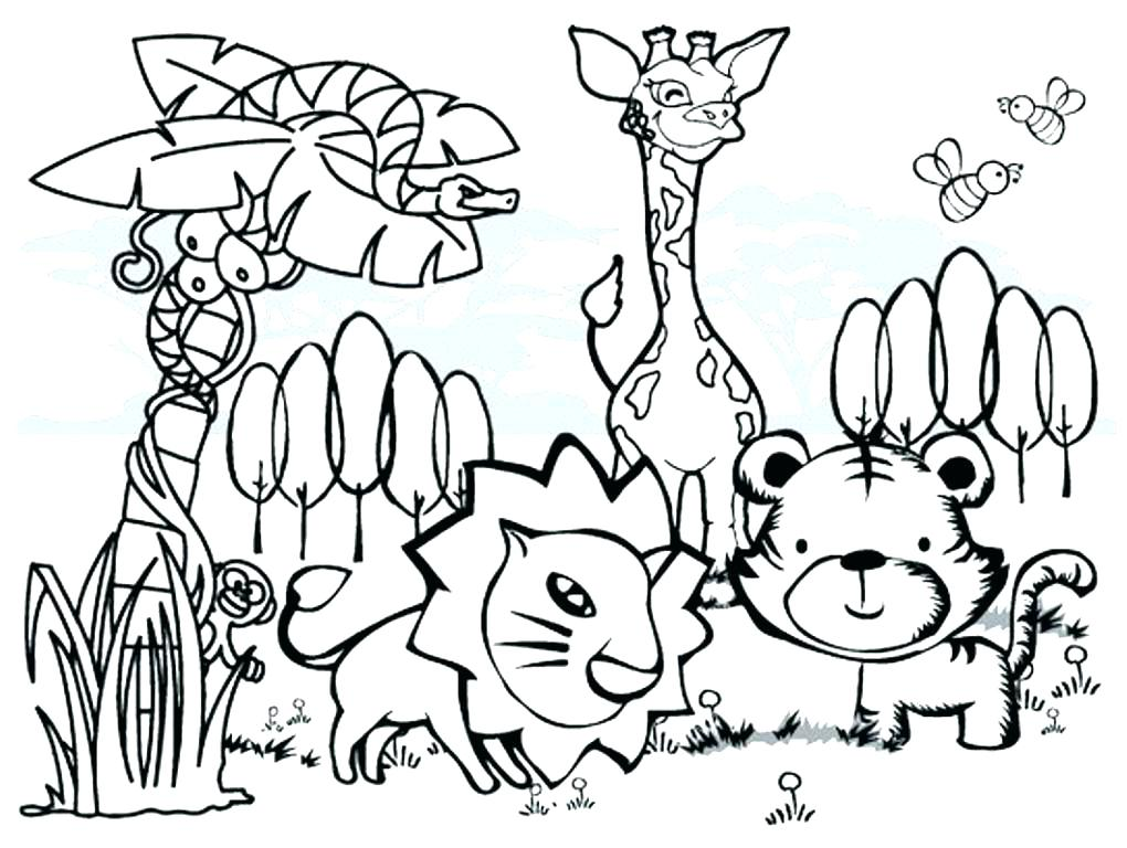 1020x768 Animal Coloring Pages Free Animal Colouring Pages Coloring Pages